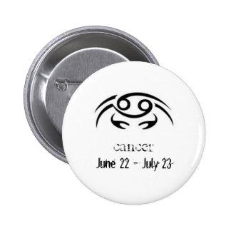 zodiac Sign Cancer Pins
