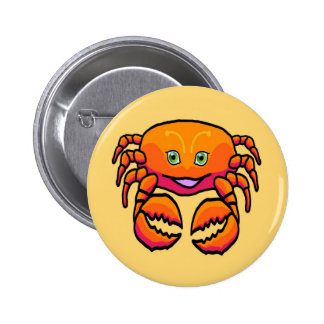 Zodiac sign Cancer Button