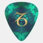 Zodiac Sign Capricorn Lace Mandala Guitar Pick