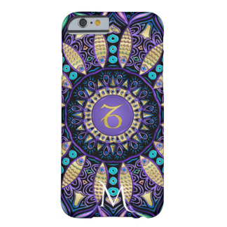 Zodiac Sign Capricorn Mandala Barely There iPhone 6 Case