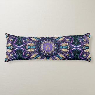 Zodiac Sign Capricorn Mandala Body Pillow