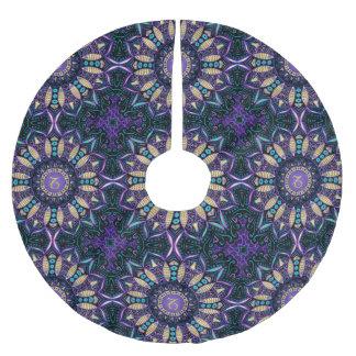Zodiac Sign Capricorn Mandala Brushed Polyester Tree Skirt