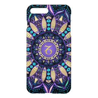 Zodiac Sign Capricorn Mandala iPhone 7 Case