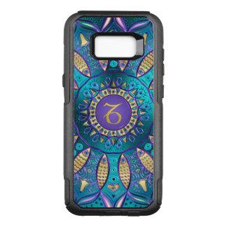 Zodiac Sign Capricorn Mandala OtterBox Commuter Samsung Galaxy S8+ Case
