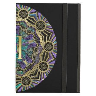 Zodiac Sign Gemini Mandala Monogram iPad Air Case