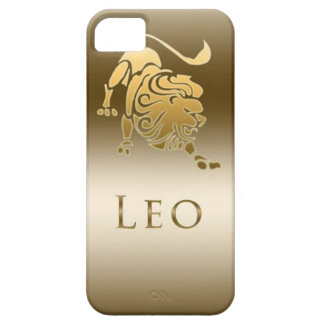 ZODIAC SIGN LEO GOLD CASE FOR THE iPhone 5