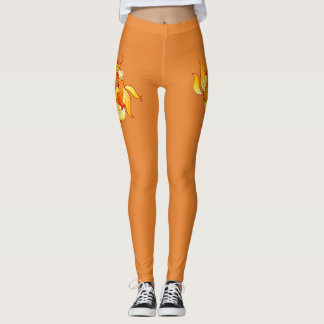Zodiac sign Pisces Leggings