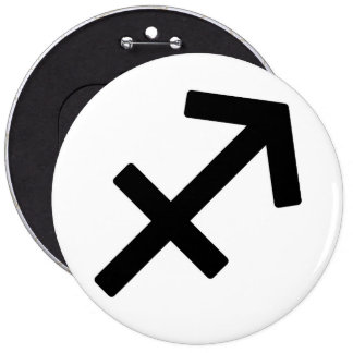 Zodiac sign Sagittarius Buttons