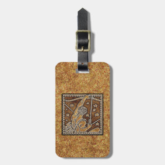 ZODIAC SIGN SAGITTARIUS LUGGAGE TAG