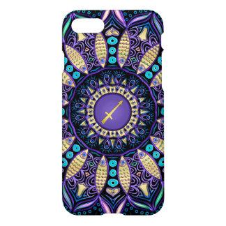 Zodiac Sign Sagittarius Mandala iPhone 8/7 Case