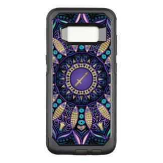 Zodiac Sign Sagittarius Mandala OtterBox Commuter Samsung Galaxy S8 Case
