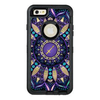 Zodiac Sign Sagittarius Mandala OtterBox Defender iPhone Case