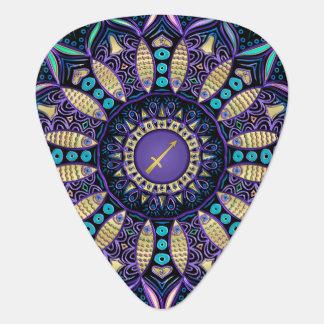 Zodiac Sign Sagittarius Mandala Pick