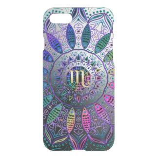 Zodiac Sign Scorpio Metallic Mandala iPhone 7 Case