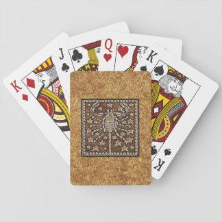 ZODIAC SIGN SCORPIO PLAYING CARDS