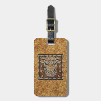 ZODIAC SIGN TAURUS LUGGAGE TAG