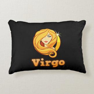 Zodiac sign Virgo Decorative Pillow