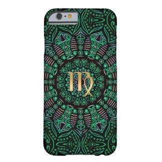 Zodiac Sign Virgo Mandala Barely There iPhone 6 Case