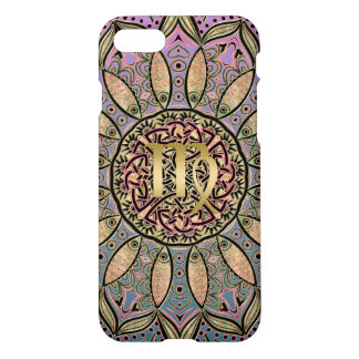 Zodiac Sign Virgo Mandala Earth Tones iPhone 8/7 Case