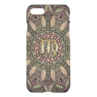 Zodiac Sign Virgo Mandala Earth Tones iPhone 8/7 Case