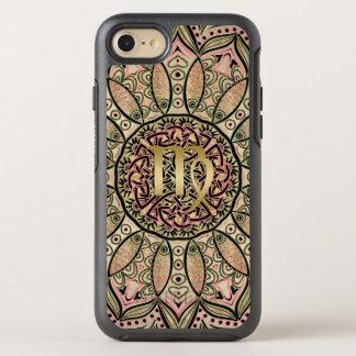 Zodiac Sign Virgo Mandala Earth Tones OtterBox Symmetry iPhone 8/7 Case
