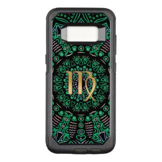 Zodiac Sign Virgo Mandala OtterBox Commuter Samsung Galaxy S8 Case