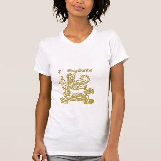 Zodiac Sign White Sagitarius t-shirt