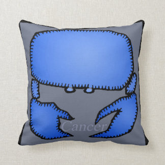 Zodiac Signs Cancer Birthday Pillow