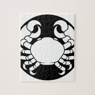 Zodiac Signs Cancer Crab Jigsaw Puzzle