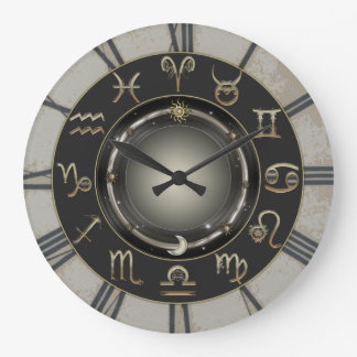 Zodiac Signs Clock