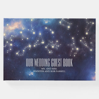 Zodiac Signs | Constellation Wedding Guest Book