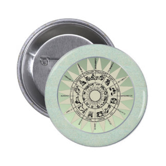 Zodiac Signs Gift Idea Buttons
