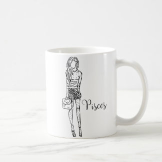 Zodiac Signs Pisces Designer Mug