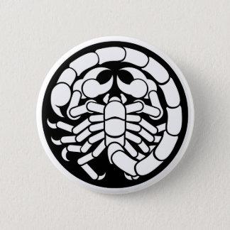 Zodiac Signs Scorpio Scorpion Icon 2 Inch Round Button