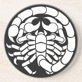 Zodiac Signs Scorpio Scorpion Icon Coaster