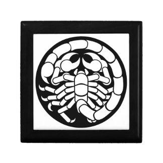 Zodiac Signs Scorpio Scorpion Icon Gift Box