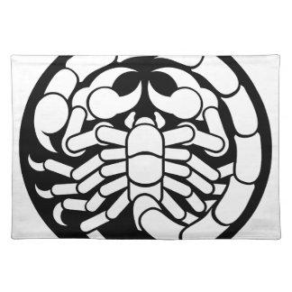 Zodiac Signs Scorpio Scorpion Icon Placemat