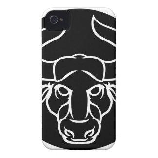Zodiac Signs Taurus Bull Icon iPhone 4 Case-Mate Case