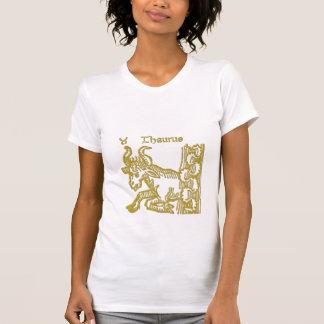 Zodiac signs White  Taurus  t-shirt
