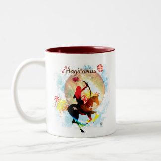 Zodiac Sips Two-Tone Coffee Mug