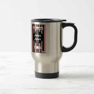 Zodiac Stripe Mug - Aquarius
