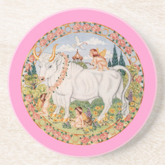 Zodiac Taurus - Customize it! Coaster