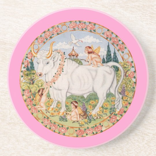 Zodiac Taurus - Customize it! Coaster
