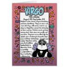 Zodiac - Virgo Fun Facts Card