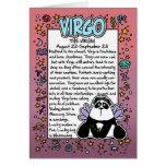 Zodiac - Virgo Fun Facts Greeting Cards