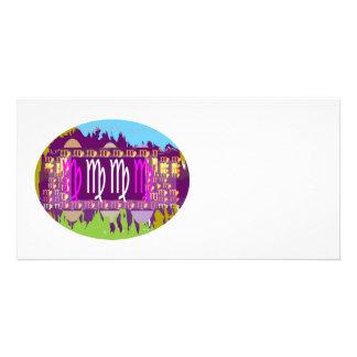 Zodiac VIRGO :  GOODLUCK Designs Photo Cards