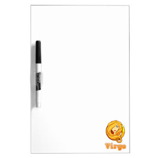 Zodiac Virgo illustration Dry Erase Board