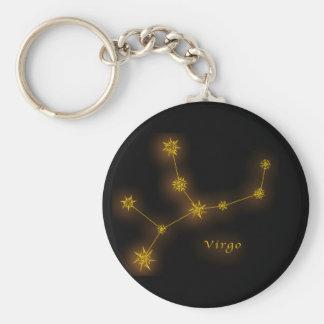 Zodiac - Virgo Keychain