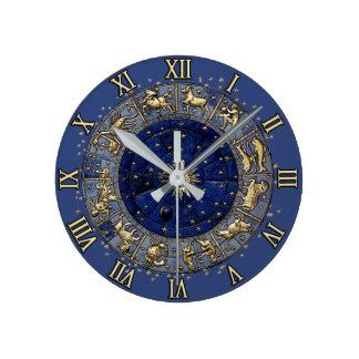 Zodiac Wheel Clocks