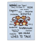 zodiac word cards - gemini